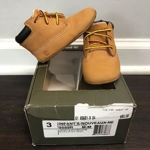 Baby Timberlands size 3c